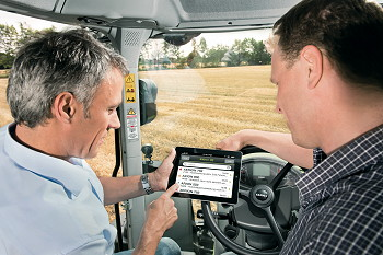 Claas: Telematics website and app launched