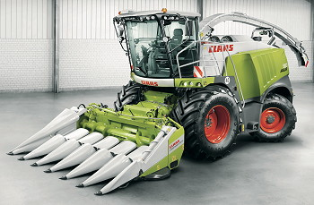 Claas Higher Throughputs For Jaguar 800 Foragers on case ih tractors