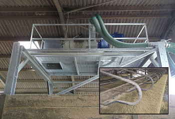 Storth Machinery: Eco-Bedder recycles manure into cattle bedding