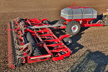 Horsch: 12m Pronto DC is the UK's largest cultivating disc seed drill