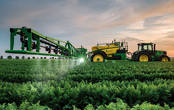 Joh Deere: New sprayer nozzles switch on the move