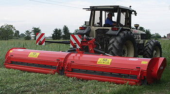 Maschio: Gemella flail mower makes Cereals debut