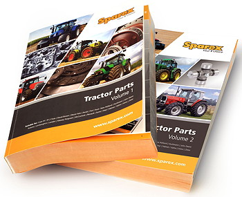 Sparex: New tractor parts catalogue released