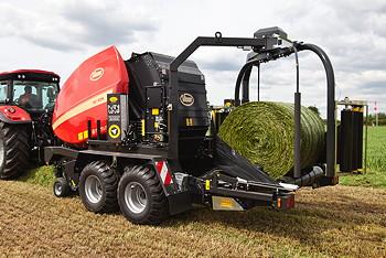 Vicon: Grassland launch for FlexiWrap baler-wrapper combination