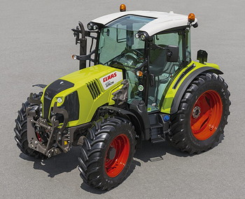 Claas Arion 400 Range  pletely Revised on case ih tractors