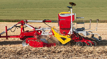 Pöttinger: Terradisc Multiline introduced for mulch drilling