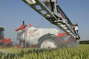 Kuhn: Atlantique sprayer makes demo debut at Cereals 2010