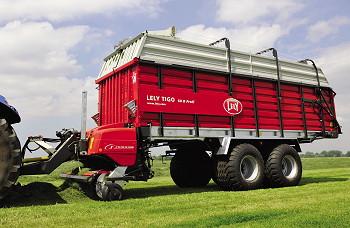 Lely: Tigo forage wagon available for spring 2010