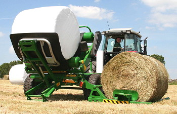McHale: 991 High Speed bale wrapper launched for 2010