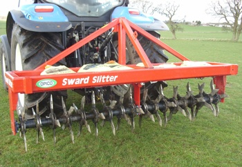 Opico: Sward Slitter aerates leys to boost grass growth