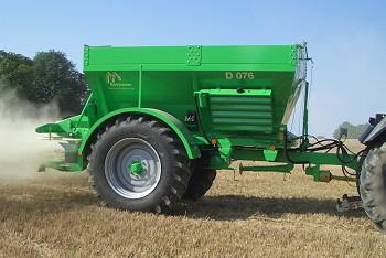 Ryetec: Güstrower high-accuracy fertiliser spreaders