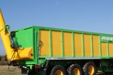 Joskin: Unloading auger for multi-purpose Drakkar trailers