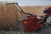 Kuhn: Front-mounted shredder for biomass harvesting