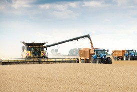 New Holland: Wheat harvesting record smashed