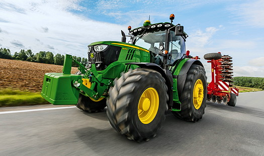 John Deere: New 6R tractors feature Stage IV engines