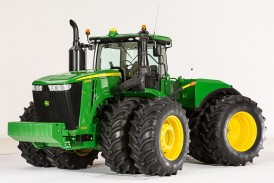 John Deere: New 9R/9RT series tractors unveiled for 2015