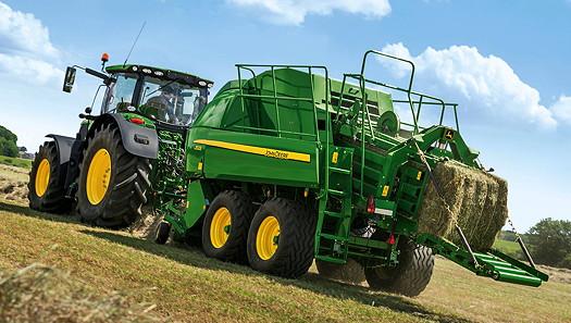 John Deere: Updates large square balers for 2015