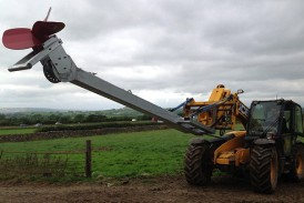 Storth: Hydraulic Mixer allows slurry to be stirred in range of situations
