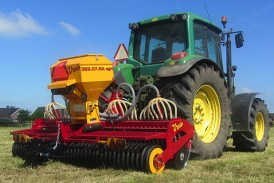 JC Machinery: New Agri Air series Vredo Overseeder at Agriscot