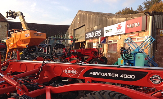 Chandlers extends into Bedfordshire with Agco