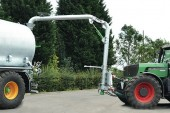 Joskin: New articulated pumping arm aids slurry transfer