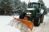 Weaving Machinery: Straight-blade snowplough added to range