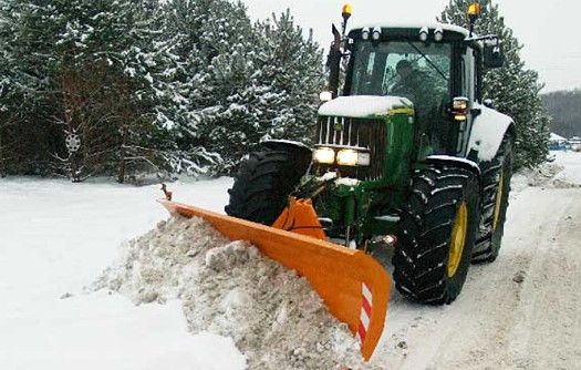 Weaving Machinery: Straight-blade snowplough added to range