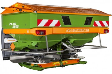 Amazone: ZA-TS fertiliser spreaders available with new capacities and widths