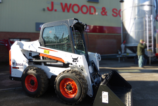 MTS and J Wood & Son form new Bobcat Partnership