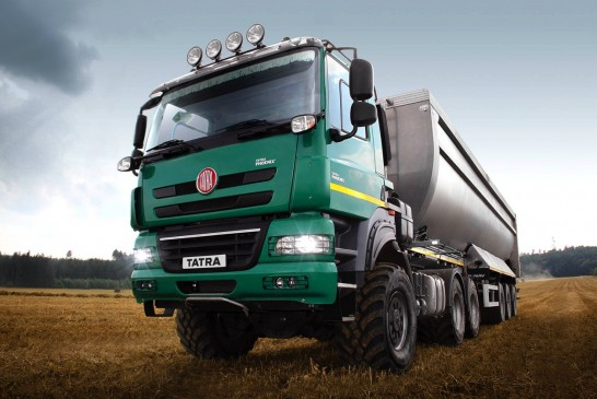 Tatra: Agricultural tractor unit offers economical crop haulage