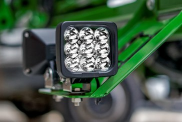 Comatra: Blue LED lamps highlight sprayer nozzle performance