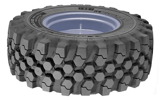 Michelin: BibLoad hard surface tyres make JCB debut