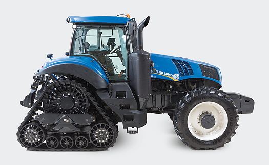 New Holland Tractors : New holland upgraded t tractors offer powerful