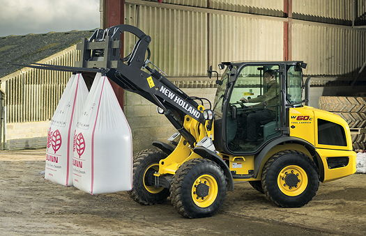 New Holland: C Generation compact wheeled loaders launched at Sima 2015