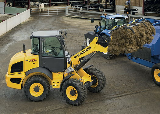 New Holland C Generation Compact Wheeled Loaders Launched At Sima 2015