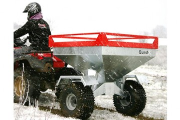 Quad-X: Take the hassle out of feeding sheep outdoors