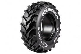 Michelin: Innovative tractor tyre tread pattern concept unveiled