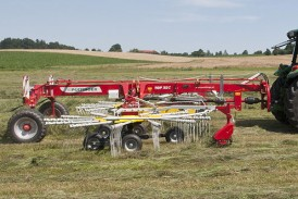 Pöttinger: Multitast means 25 per cent less dirt in your forage