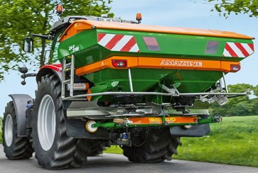 Amazone: Hi-tech ZA-V fertiliser spreader comes of age