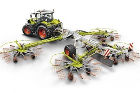 Claas: New rake matches high-output foragers and balers