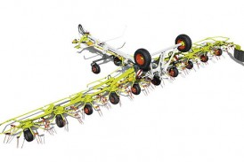 Claas: New Volto tedder is the largest in the range
