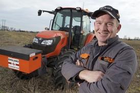 Kubota: First choice for ploughing champion