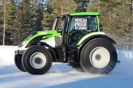 Nokian Tyres: New tractor world speed record set