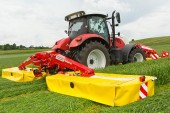 Pöttinger: Novacat S10 is the new high-flyer among mower combinations