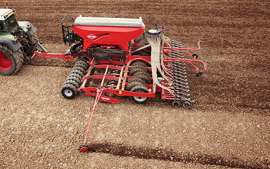 Kuhn Farm Machinery: Min-till drill offers faster drilling speeds with lower power requirement
