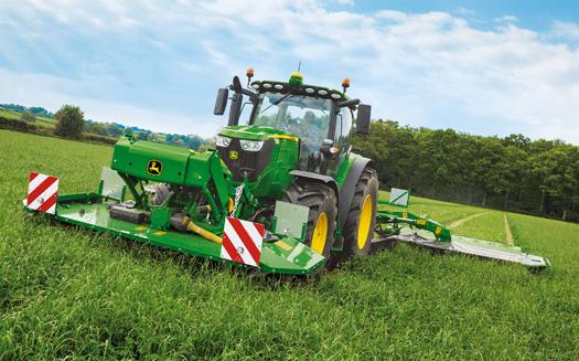 John Deere's new 6215R tractor.