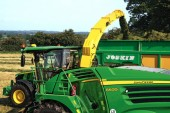 John Deere: Latest forager and tractor star at Royal Highland Show