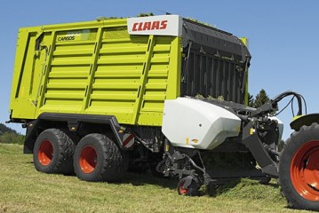 Claas: Cargos 8000 represents a new concept in forage wagons