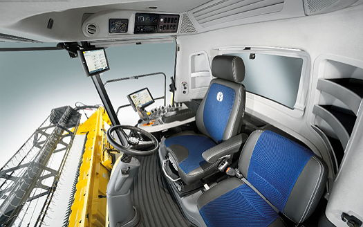 New Holland: Extra comfort from the New Harvest Suite Ultra Cab
