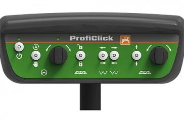 Amazone: Increased spraying comfort with ProfiClick